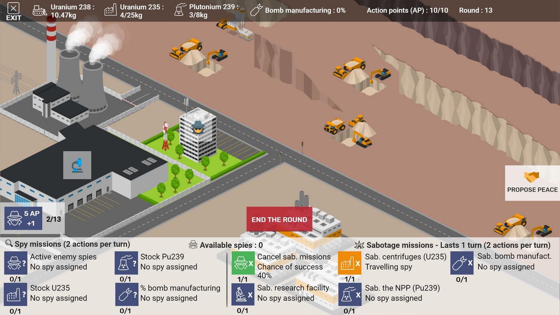 Nuclear Arms Race screenshot