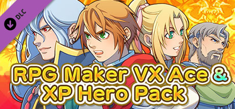 RPG Maker MV - VX Ace & XP Hero Pack