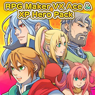 RPG Maker MV - VX Ace & XP Hero Pack screenshot