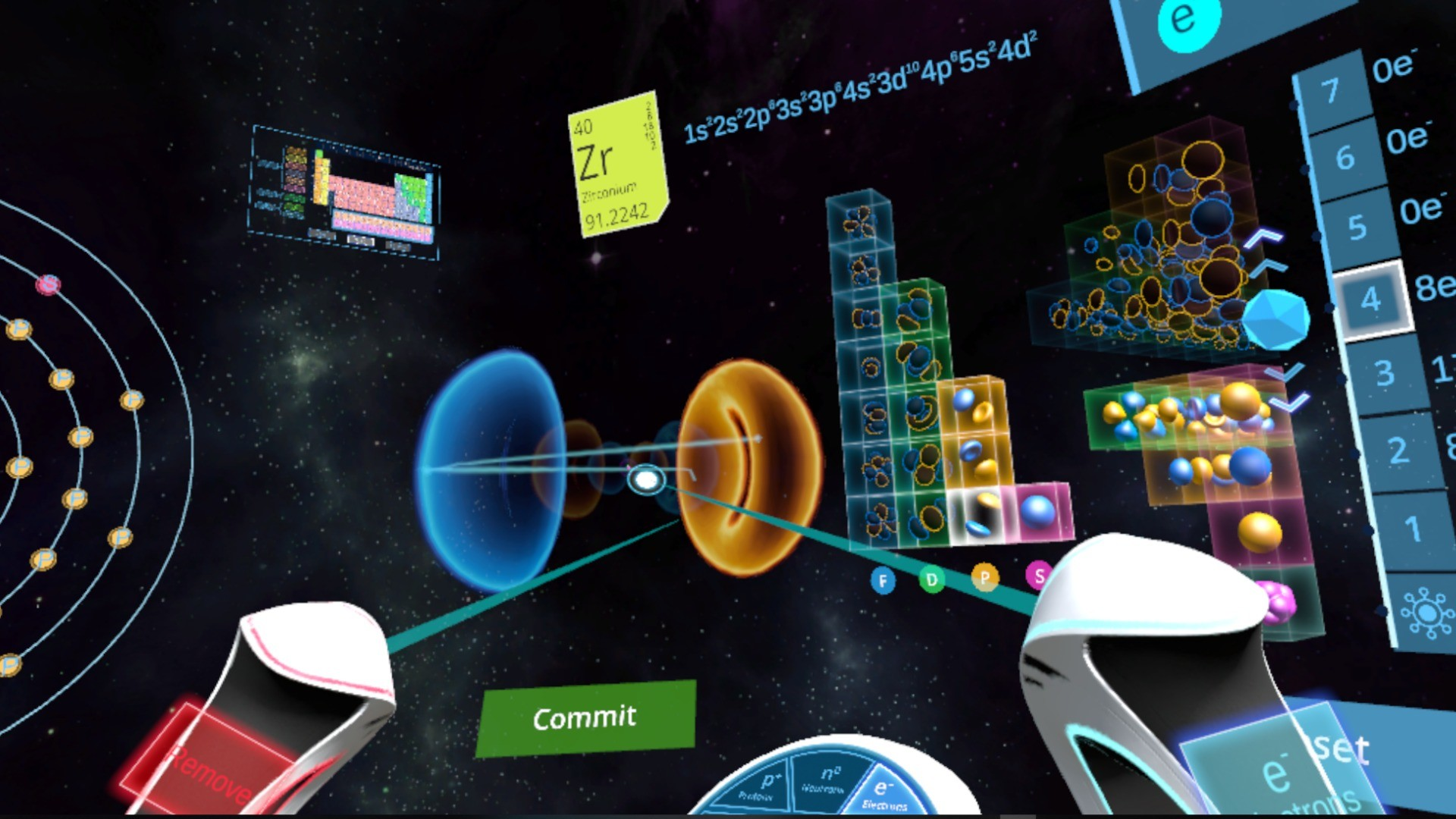 Abelana's Atom Maker screenshot