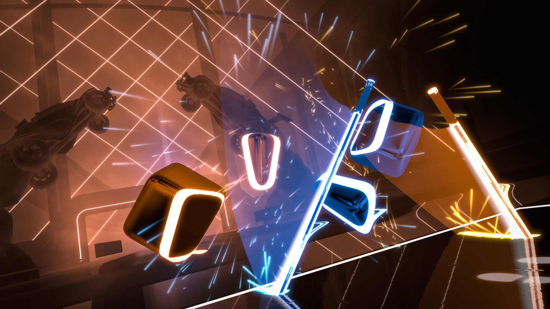 "Beat Saber - Stephen Walking – ""Glide"" screenshot"