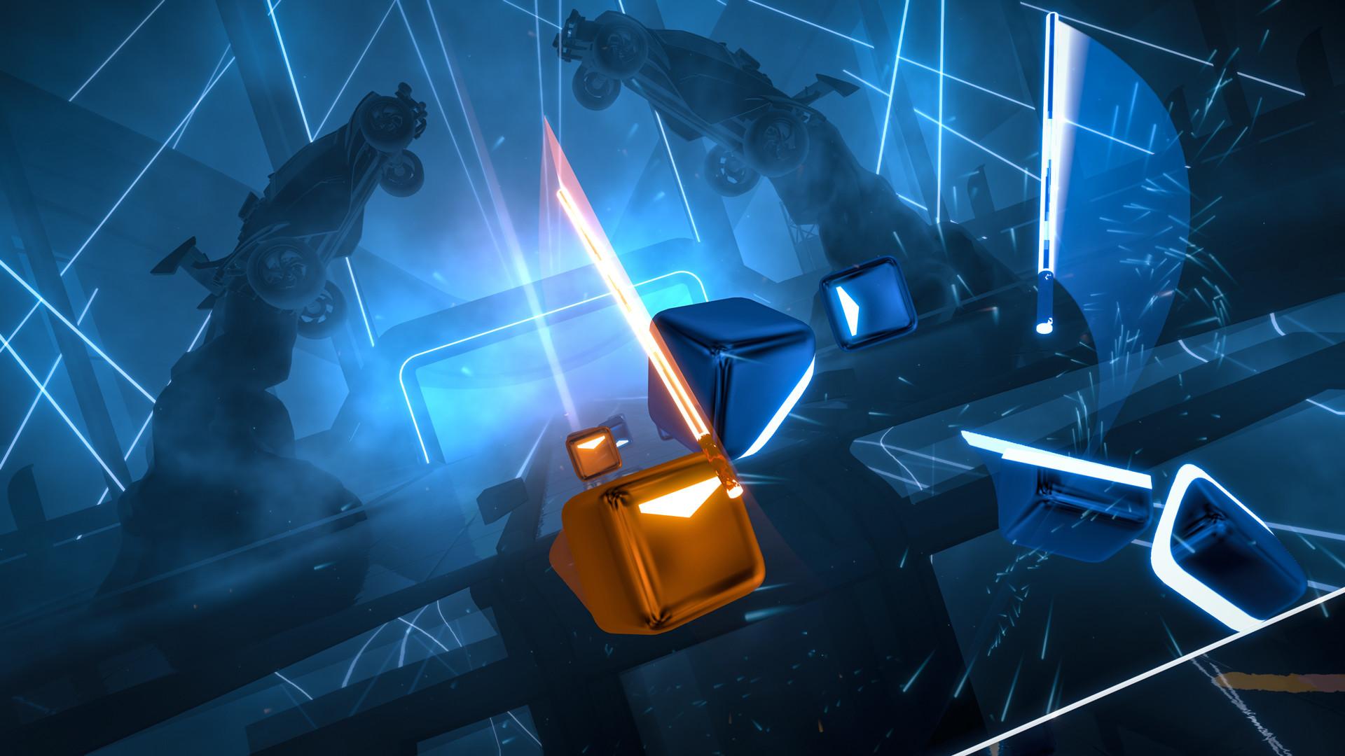 """Beat Saber - Tokyo Machine – """"ROCK IT"""" screenshot"""