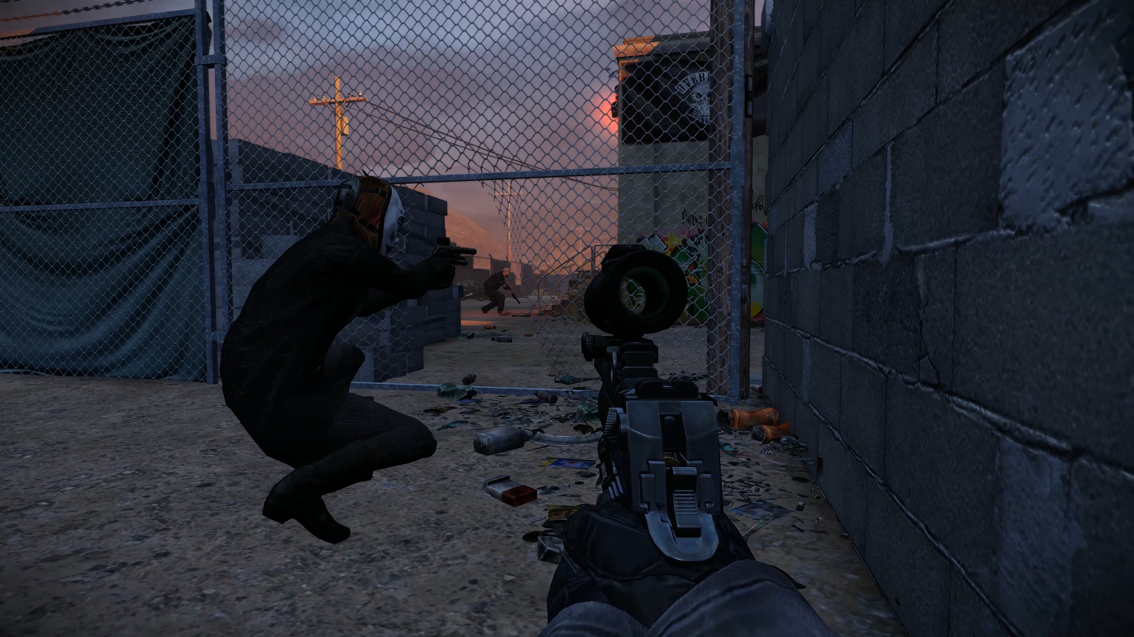 PAYDAY 2: Border Crossing Heist screenshot