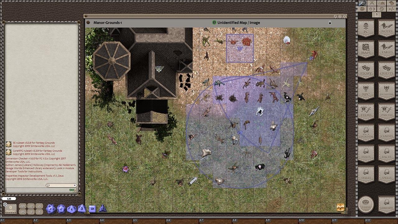 Fantasy Grounds - Ddraig Goch's Samhain Pack 4 (Token Pack) screenshot