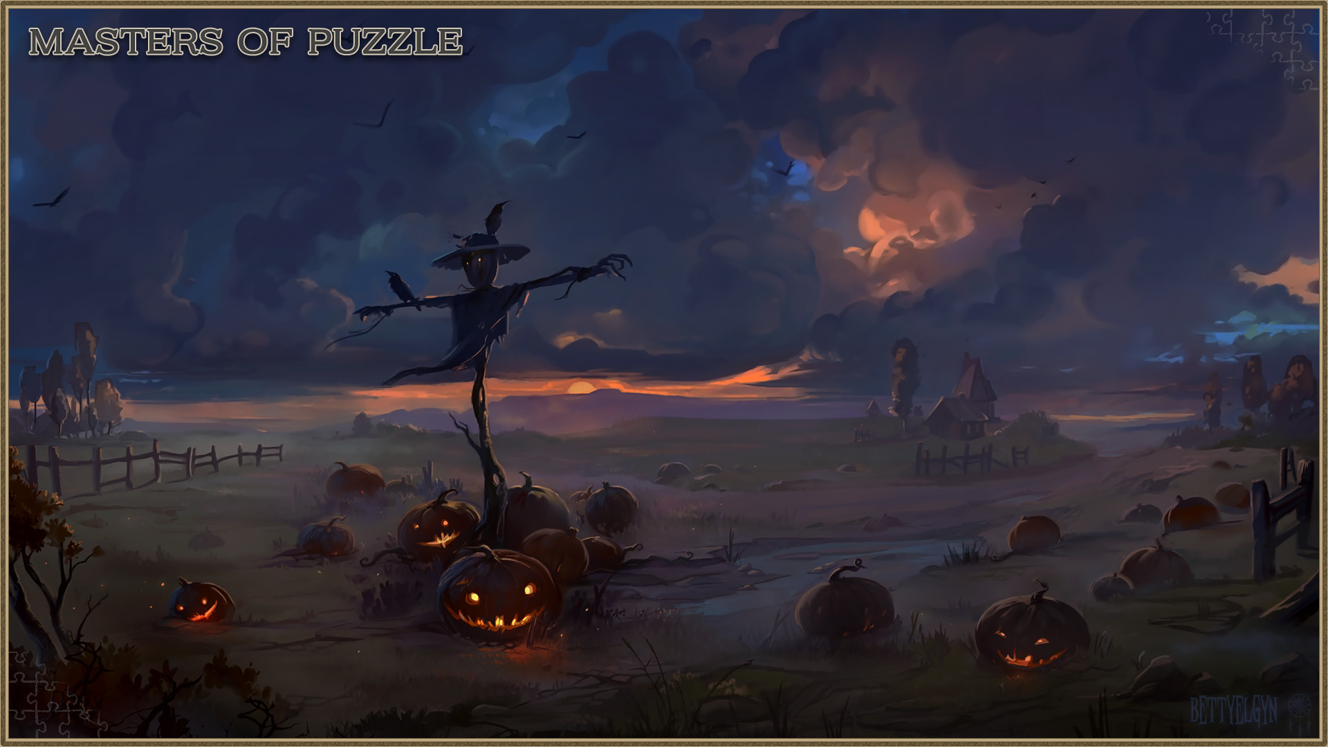 Masters of Puzzle - Halloween Edition: Scarecrow Watcher screenshot