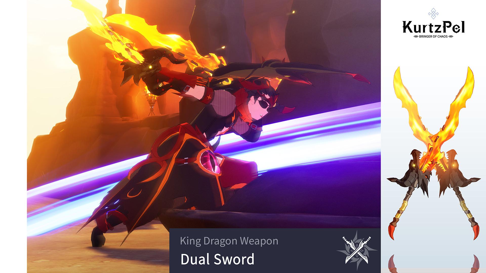 KurtzPel - King Dragon Dual Sword screenshot