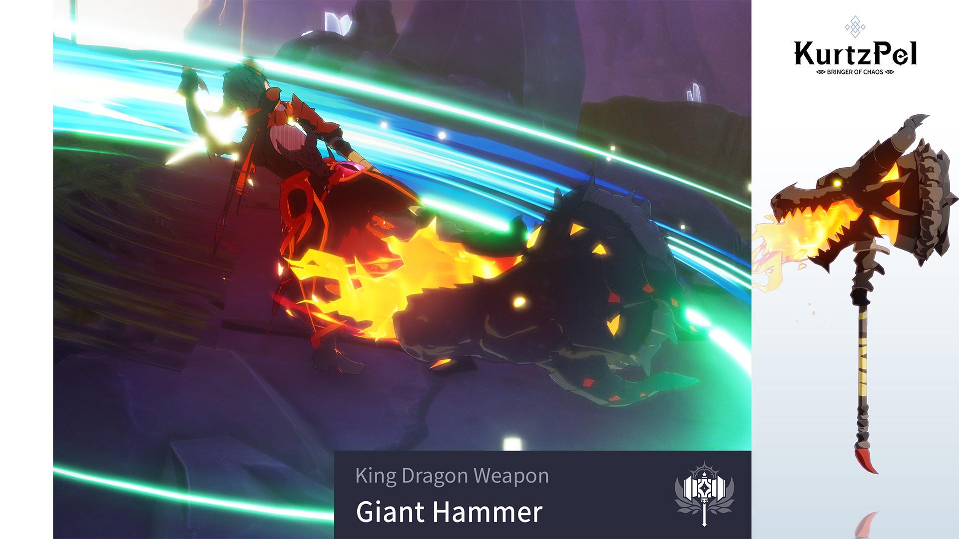 KurtzPel - King Dragon Giant Hammer screenshot