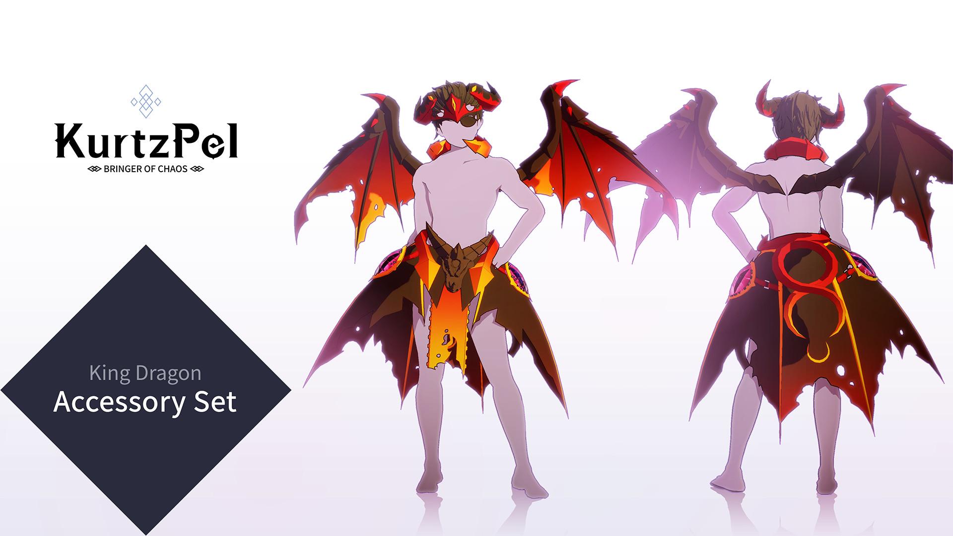 KurtzPel - King Dragon Accessory Set screenshot