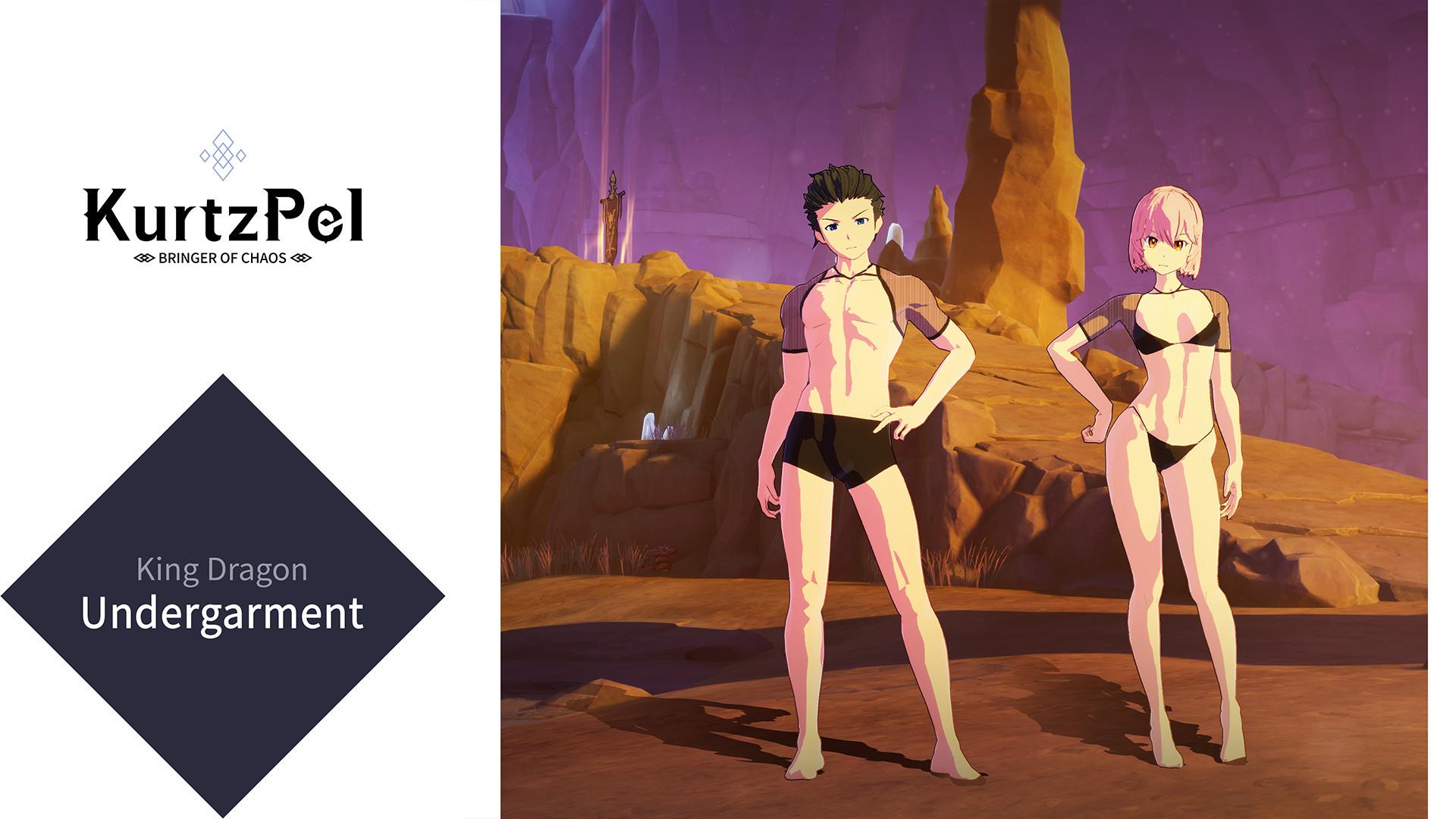 KurtzPel - King Dragon Undergarment screenshot