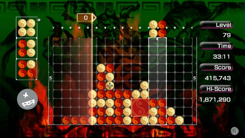 LUMINES screenshot