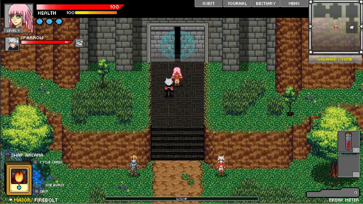 Hero Soul: I want to be a Hero! screenshot