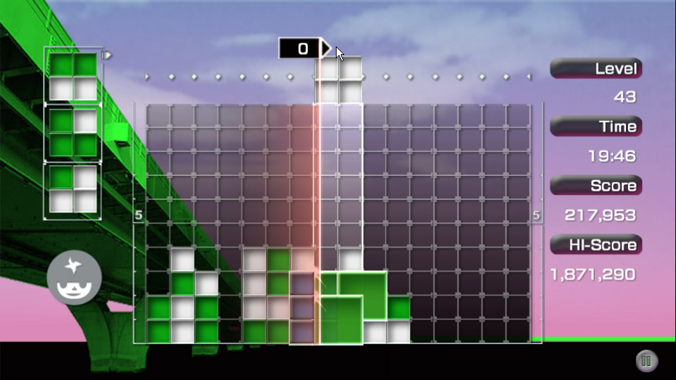LUMINES Advance Pack screenshot