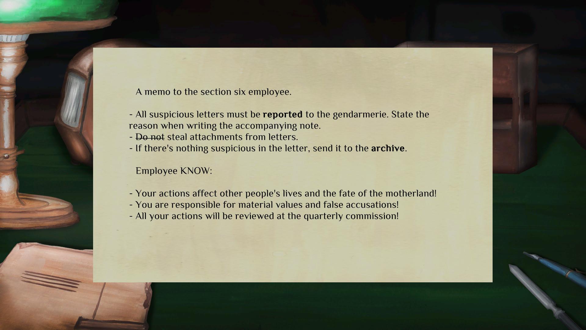 Section Six screenshot