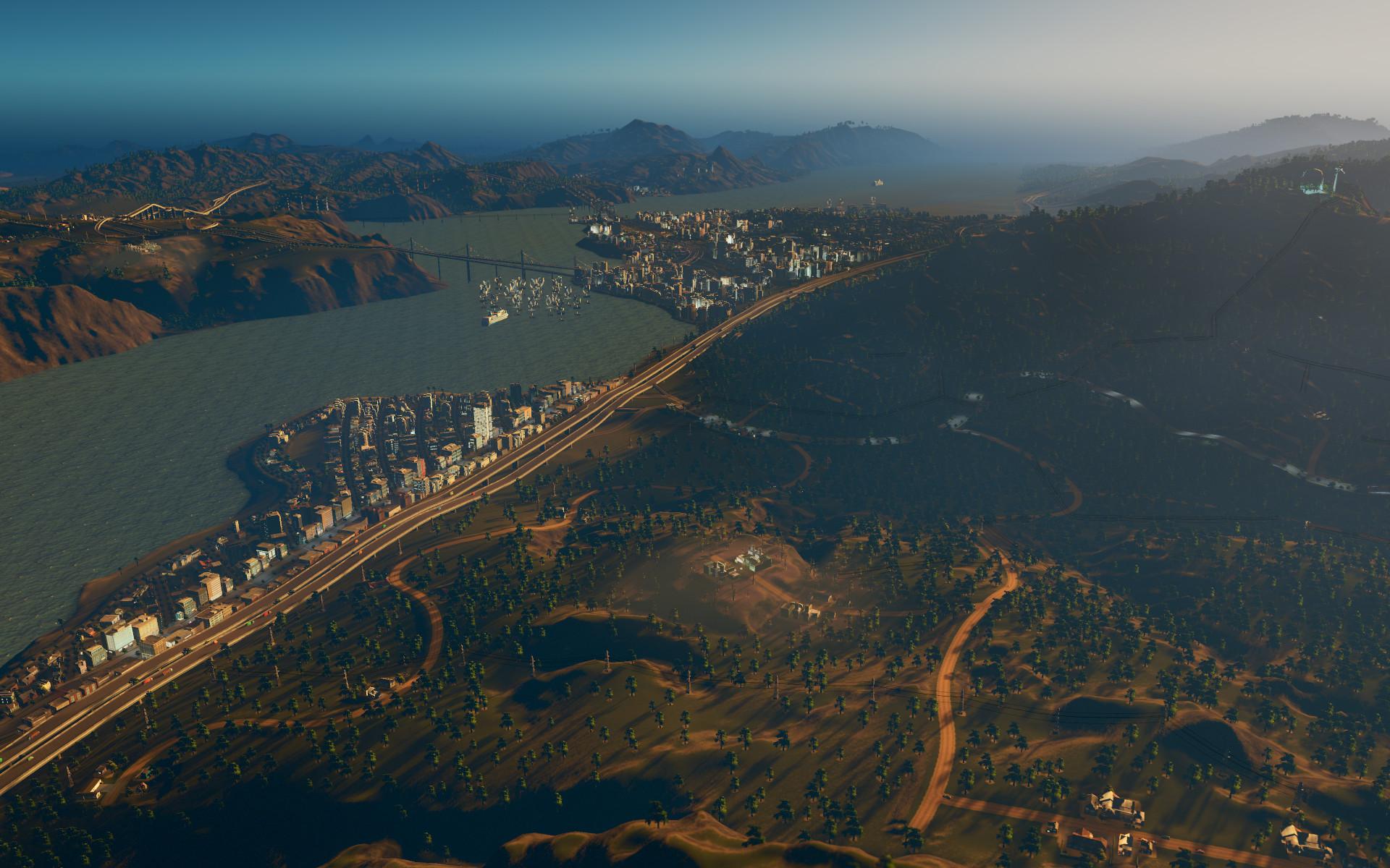 Cities: Skylines - Coast to Coast Radio screenshot