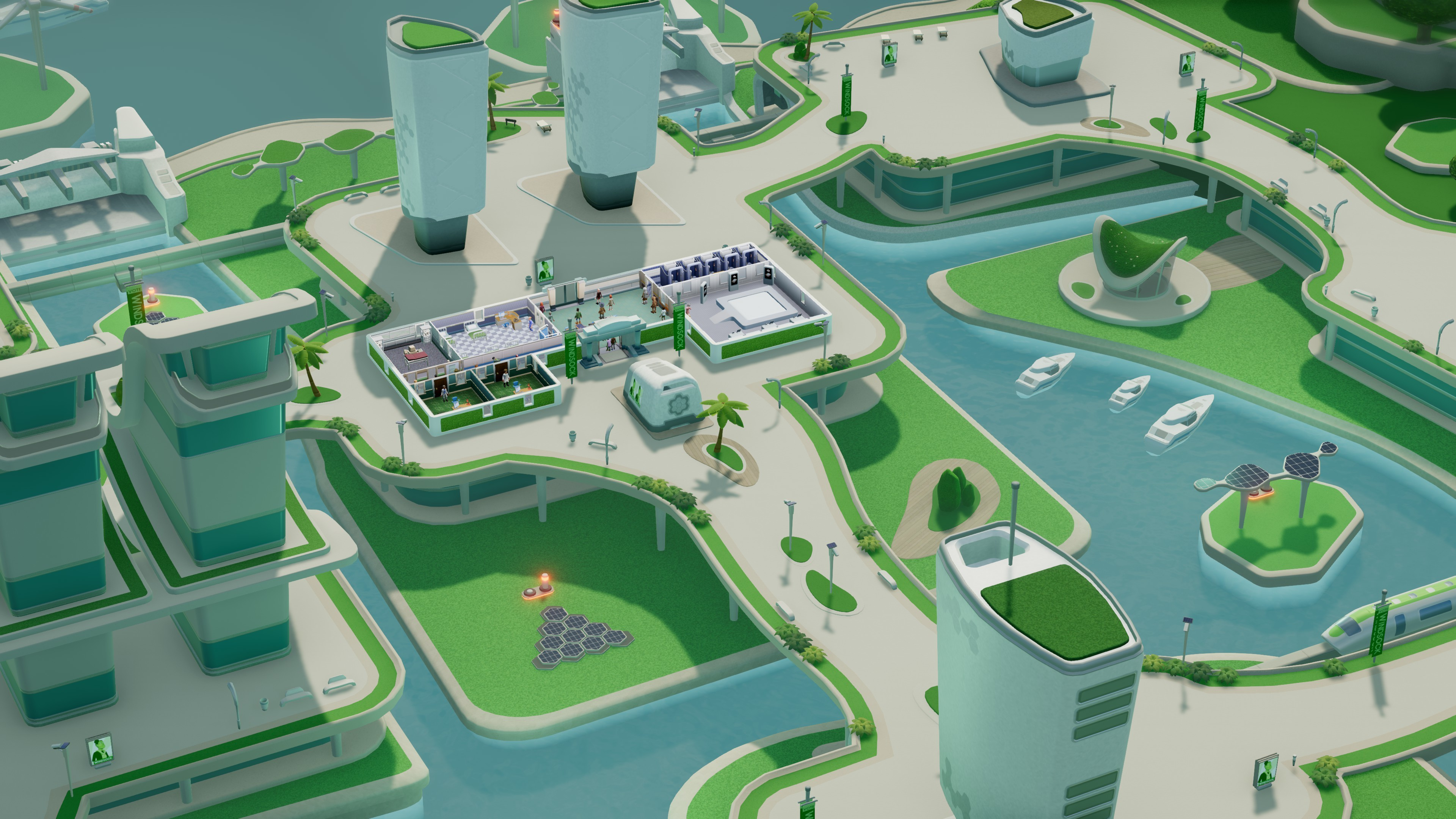 Two Point Hospital: Off the Grid screenshot
