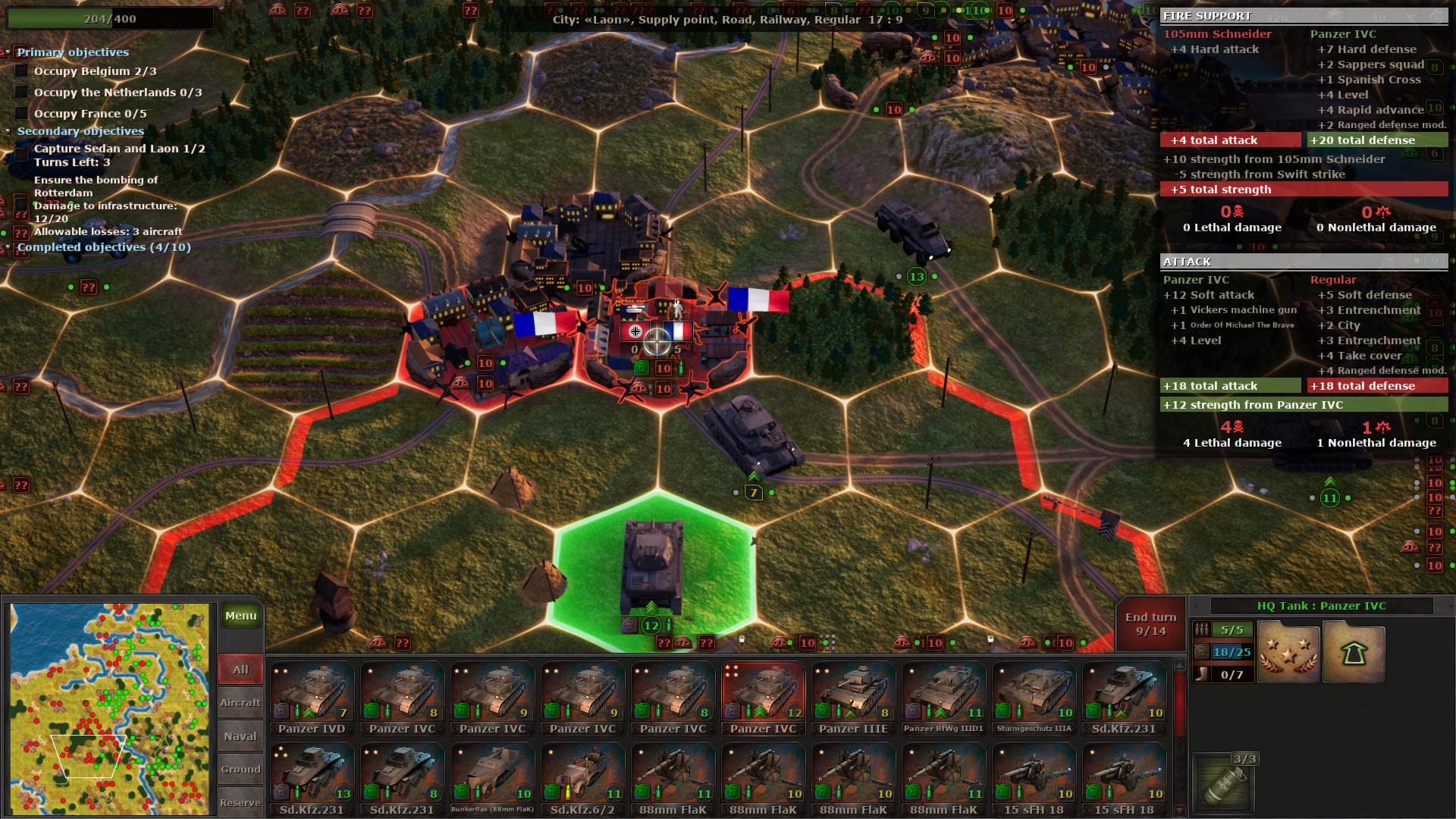 Strategic Mind: Blitzkrieg screenshot