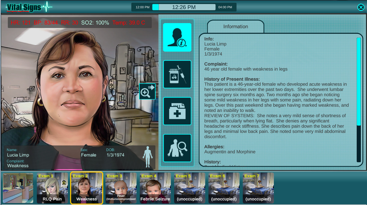 Vital Signs: ED - Infections Package screenshot