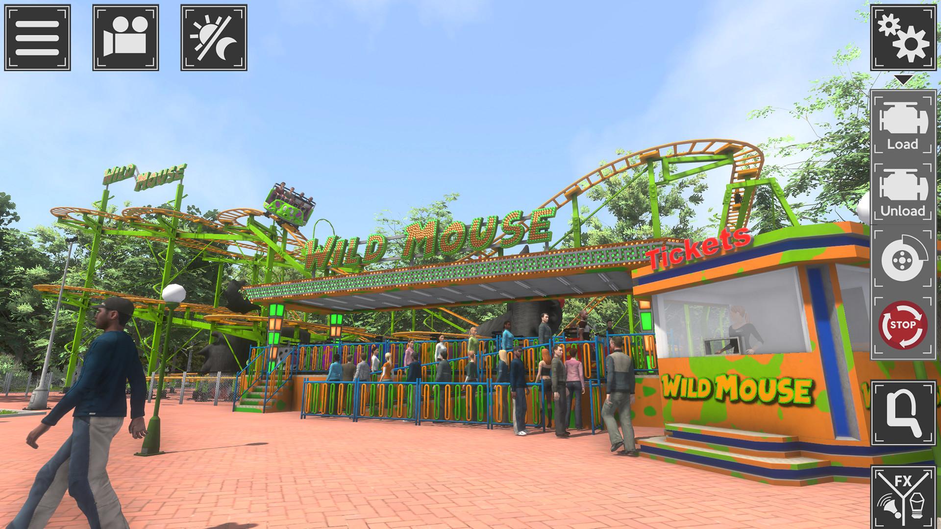 Theme Park Simulator screenshot