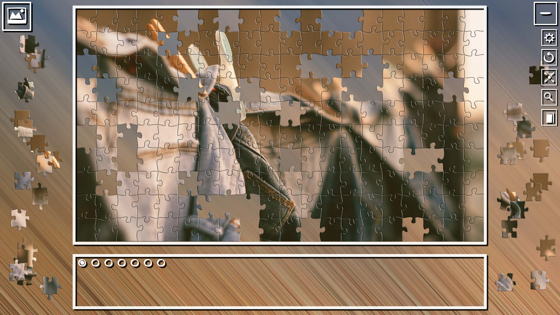 Super Jigsaw Puzzle: Generations - Random Puzzles 2 screenshot