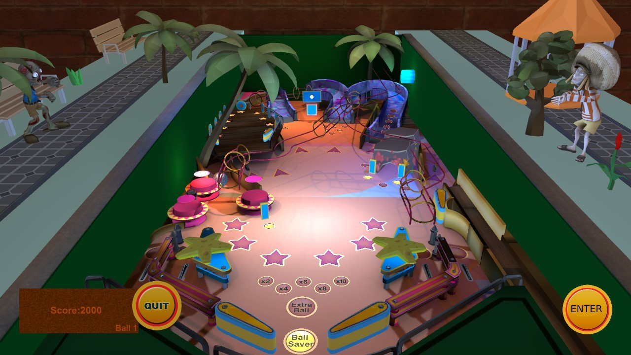 Pinball universe screenshot