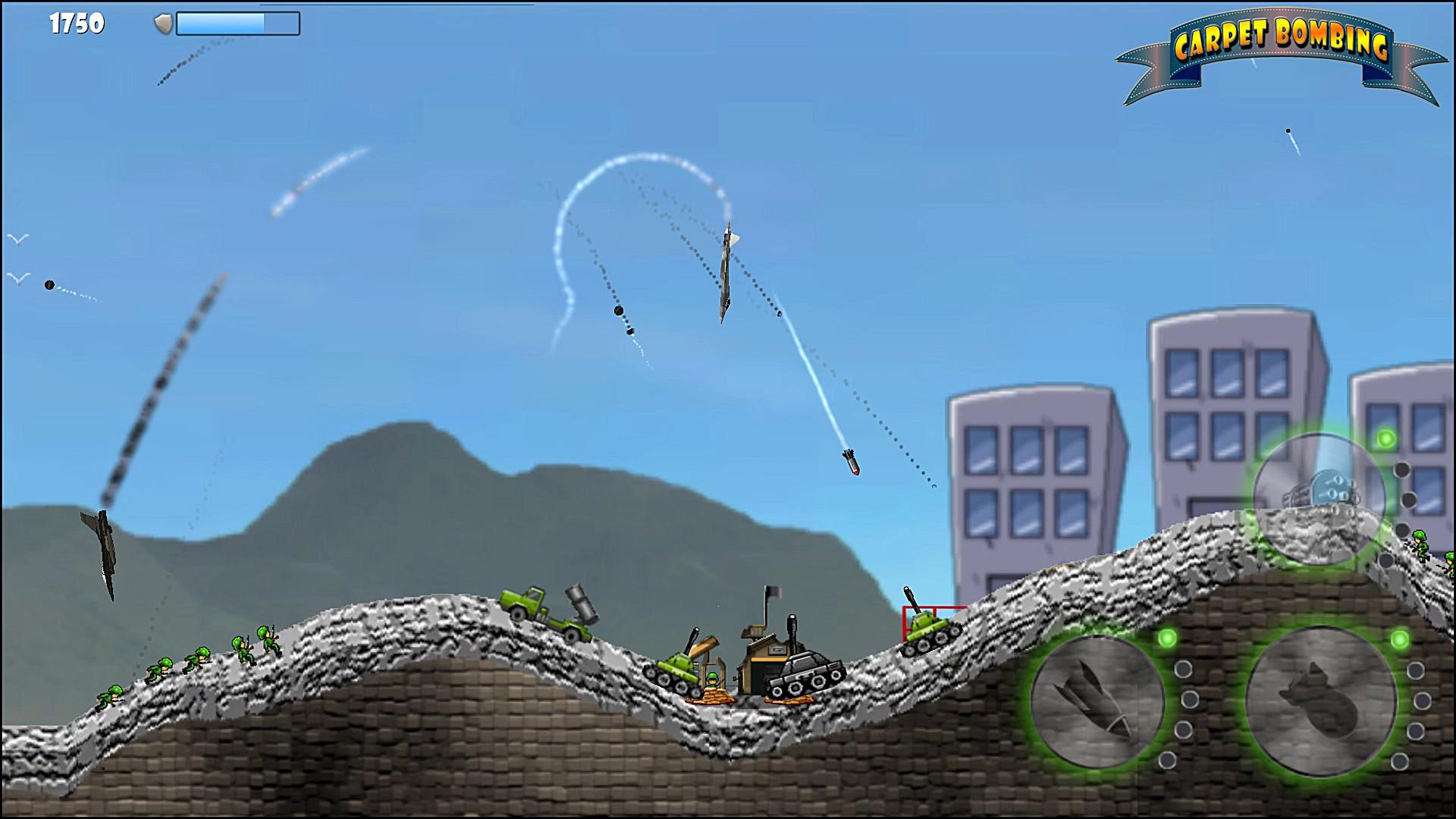 Carpet Bombing screenshot