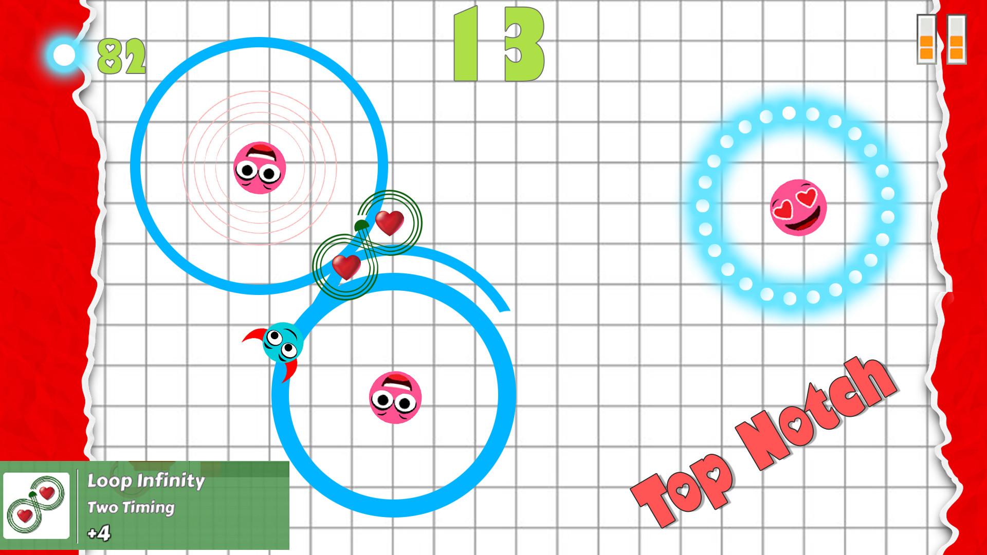 Flirt Balls Race (Valentine Day Special Casual Racing Love Theme) screenshot