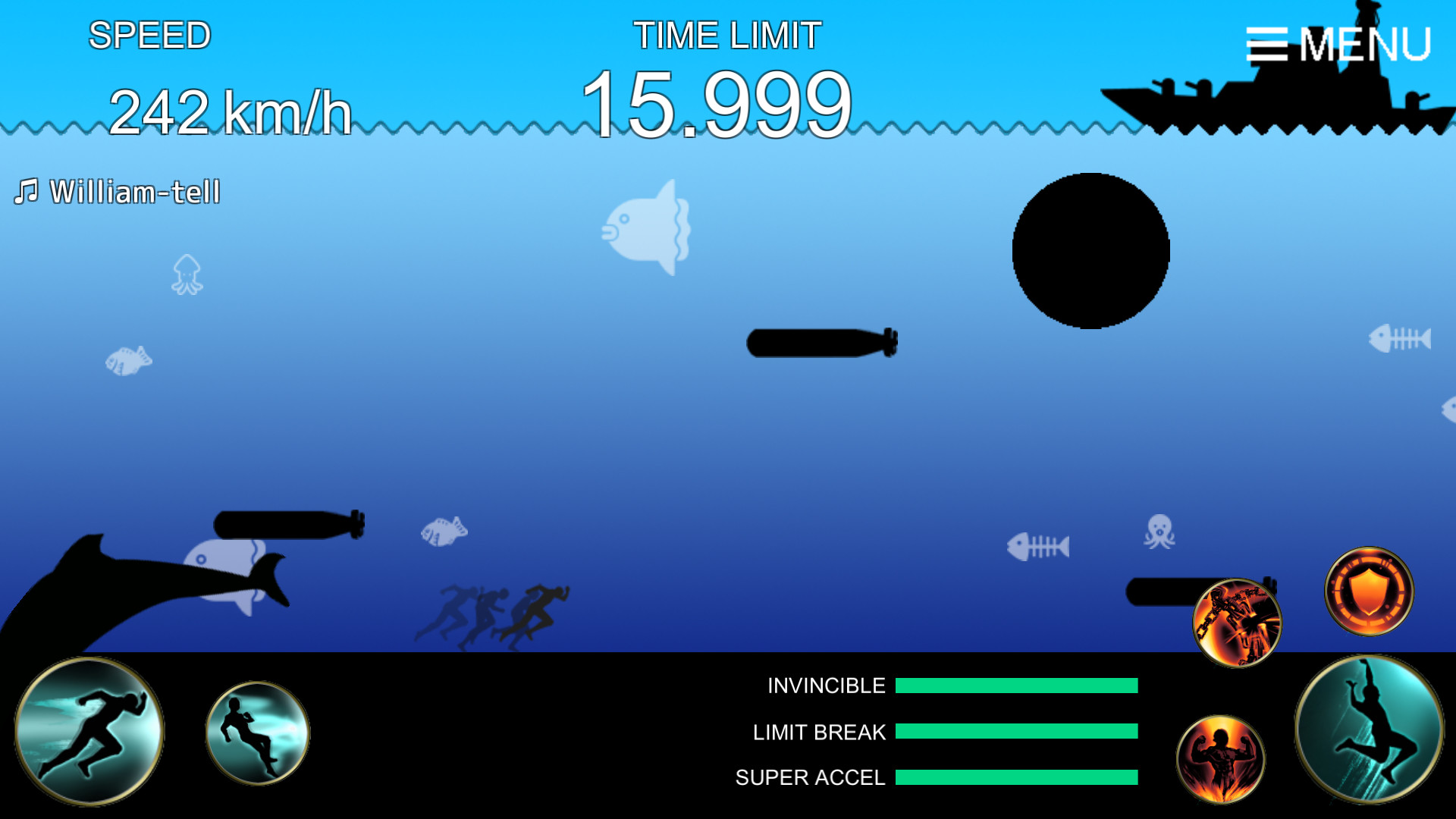 ACCEL-X screenshot