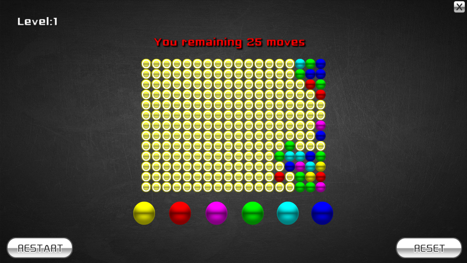 Color ball screenshot