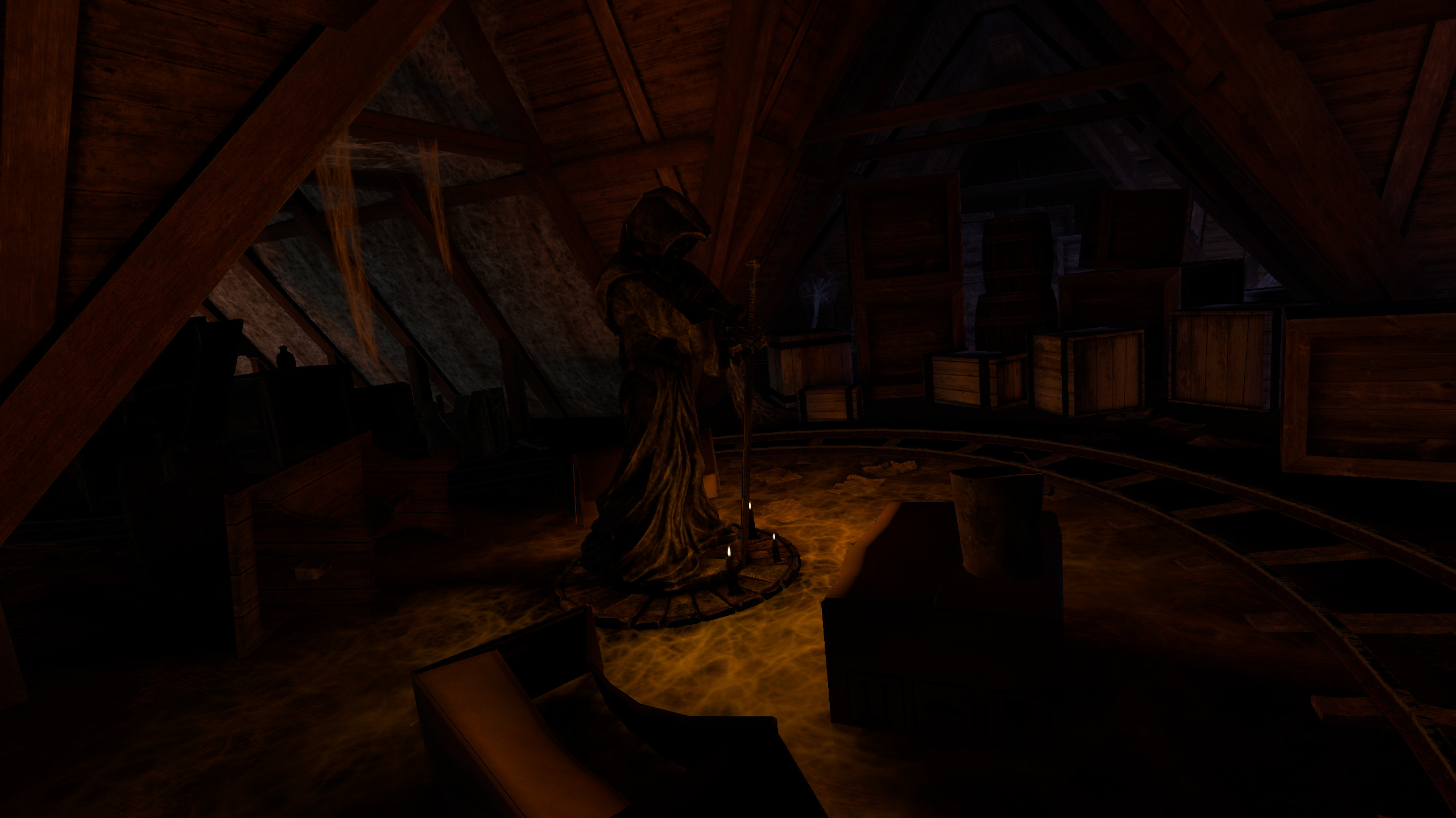 Epic Roller Coasters — Haunted Castle screenshot