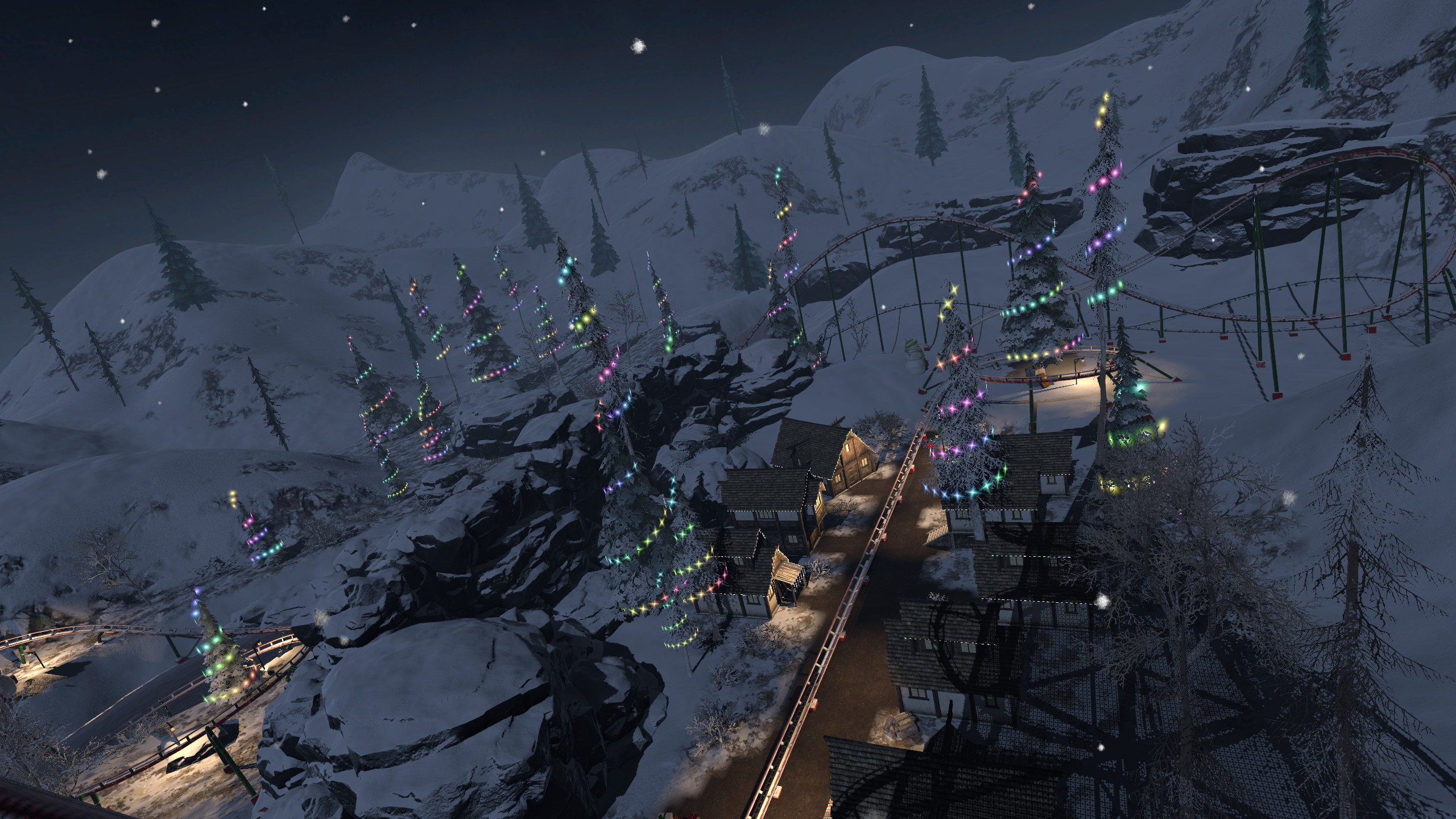 Epic Roller Coasters — North Pole screenshot