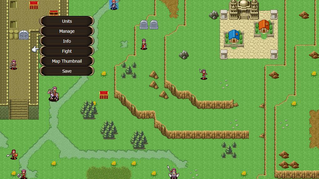 Royal Rescue SRPG screenshot