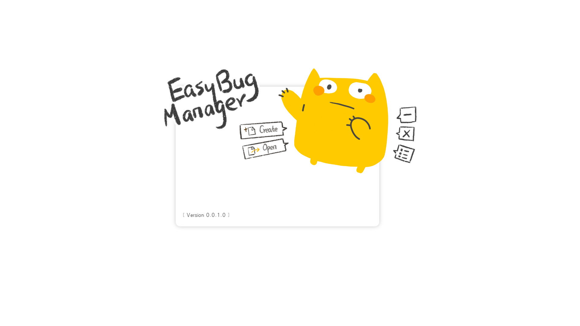 Easy Bug Manager - Cat Theme screenshot