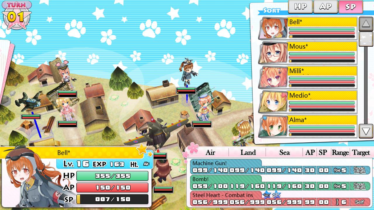 Moe Moe World War II-3 Deluxe Edition 萌萌2次大戰(略)3豪華限定版 screenshot