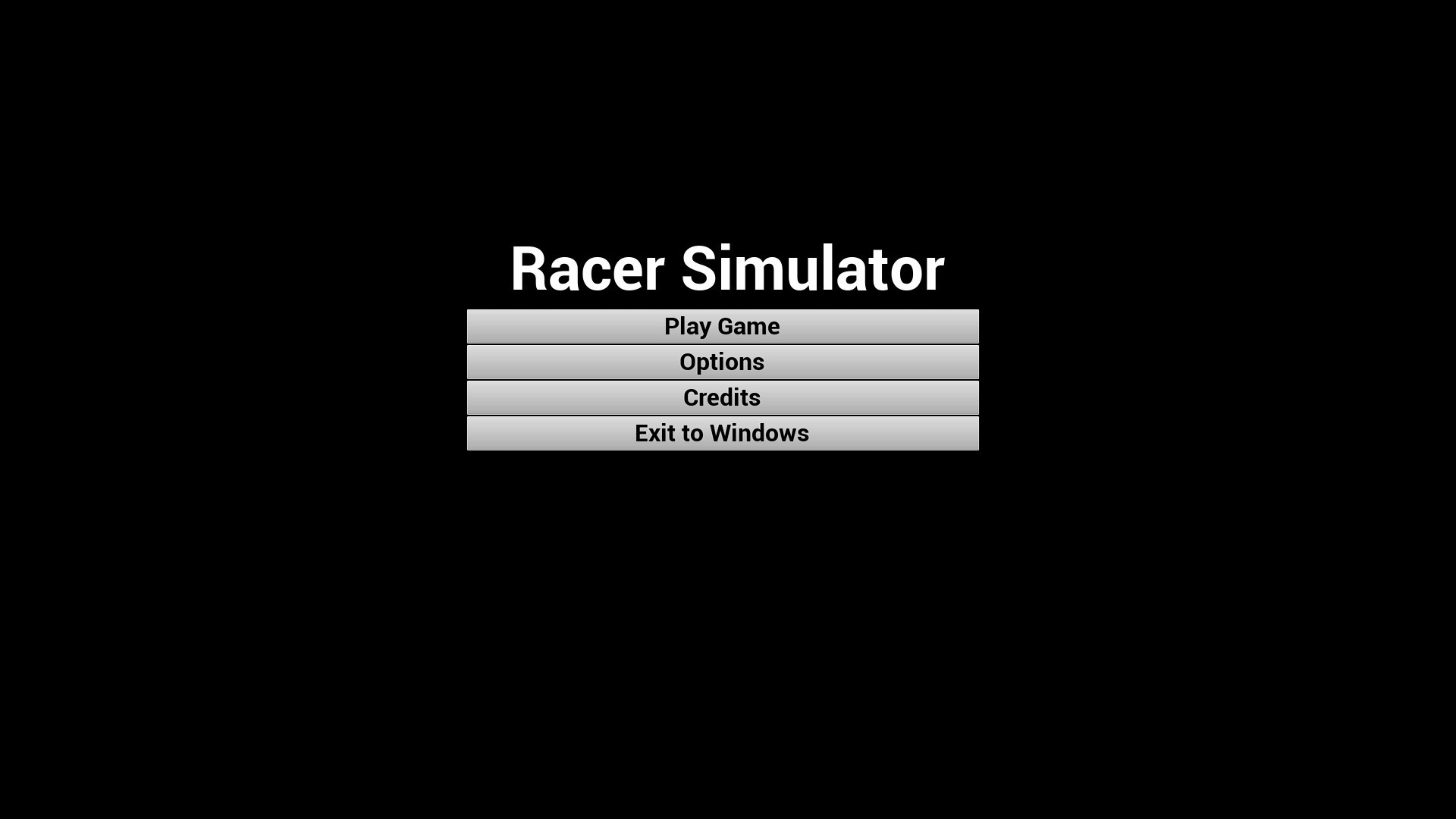 Racer Simulator - Classic Edition screenshot