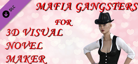 Mafia gangsters for 3D Visual Novel Maker