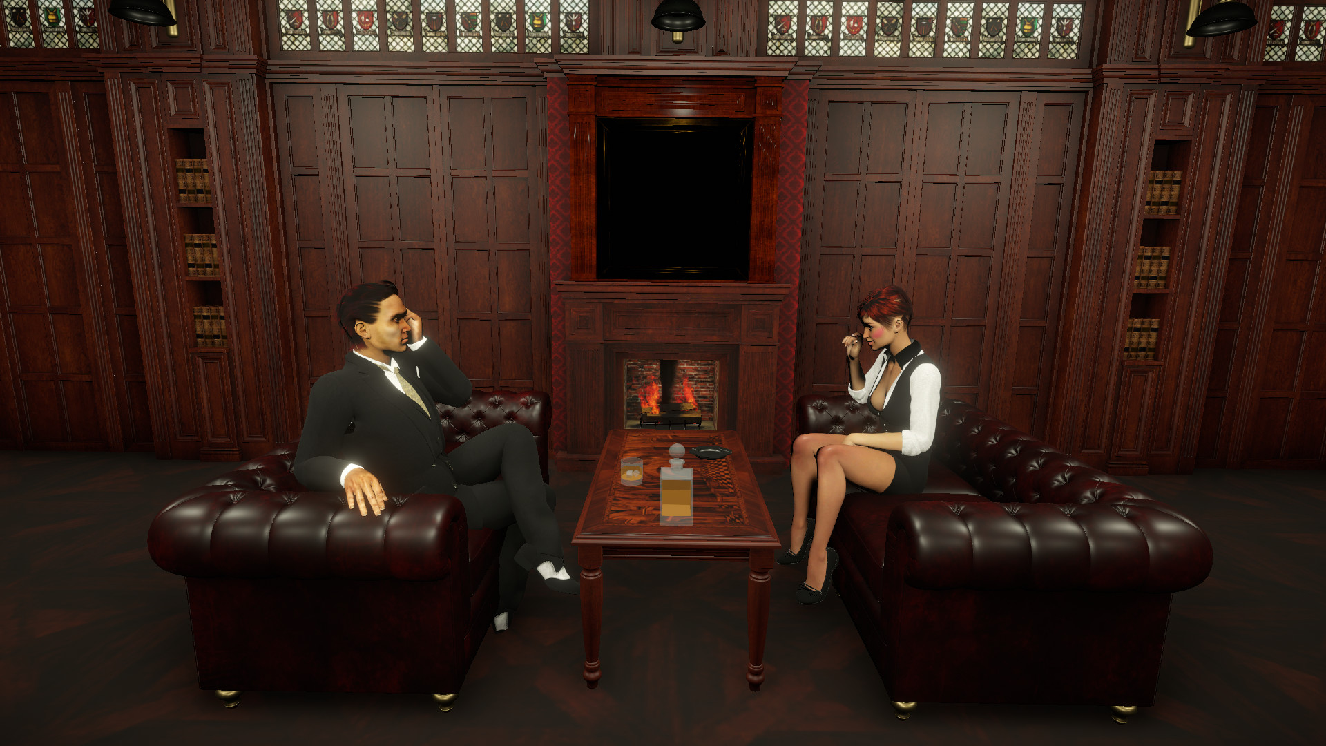 Mafia gangsters for 3D Visual Novel Maker screenshot