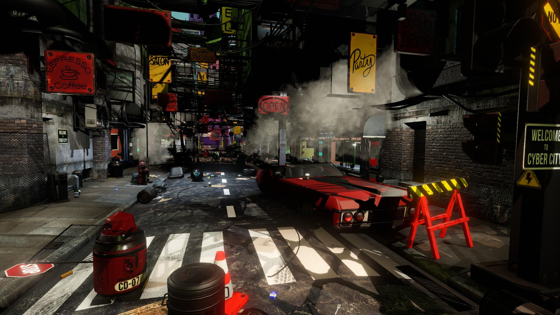 Cyberpunk for 3D Visual Novel Maker screenshot