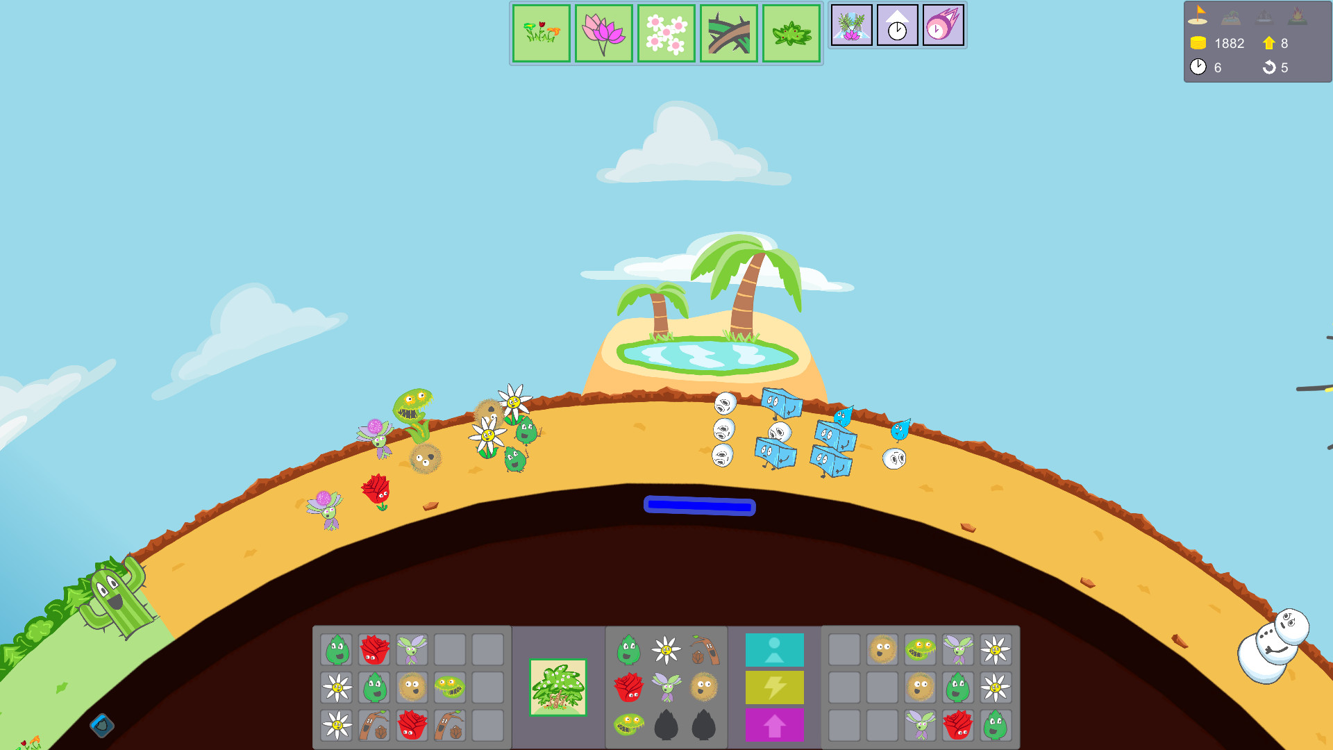 Frostfire Planet screenshot