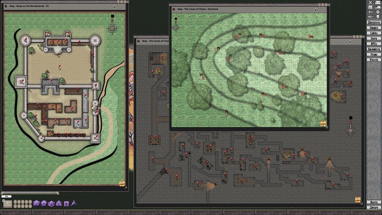 Fantasy Grounds - D&D Classics: B2 The Keep on the Borderlands screenshot