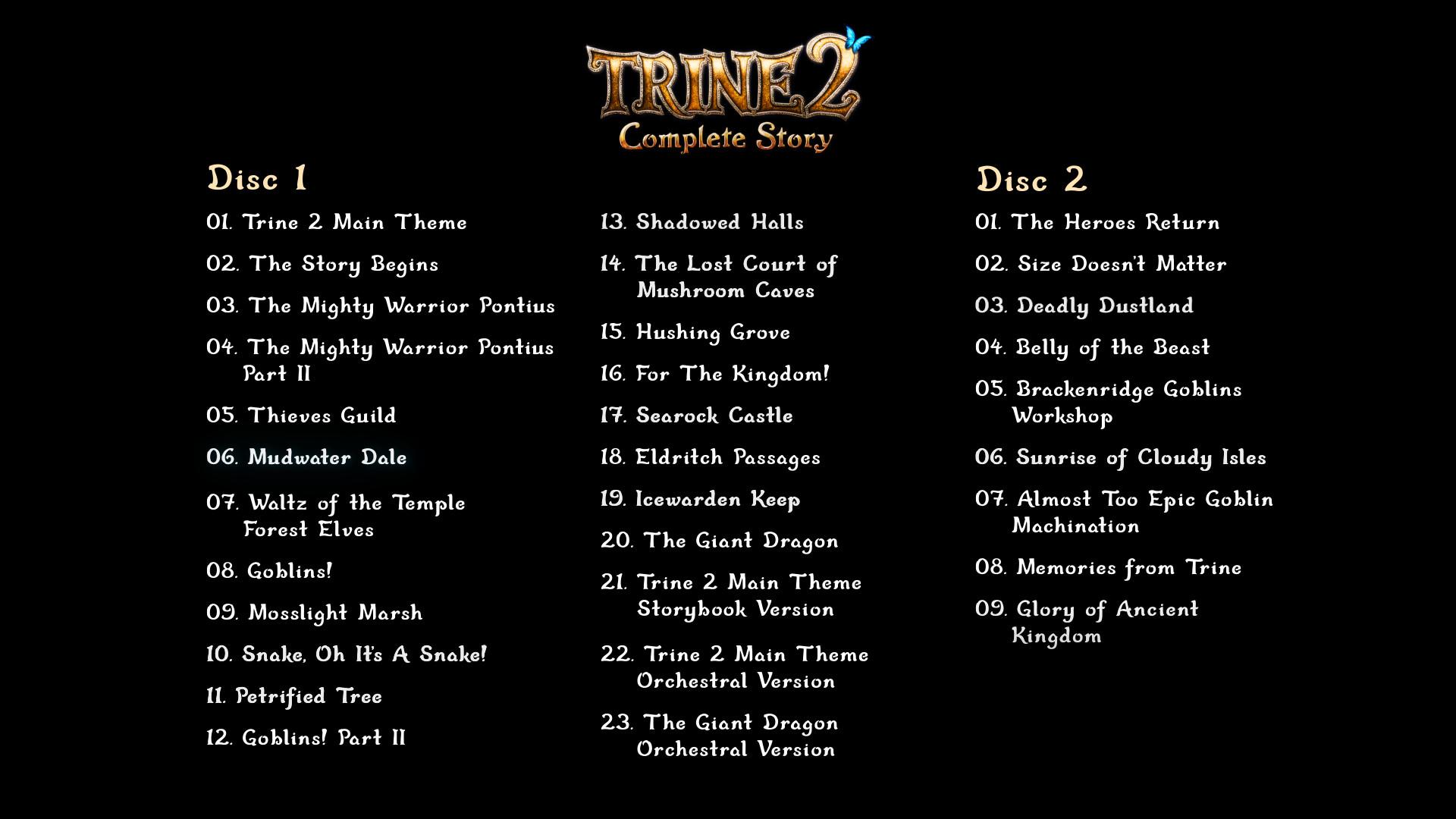Trine 2 Soundtrack screenshot
