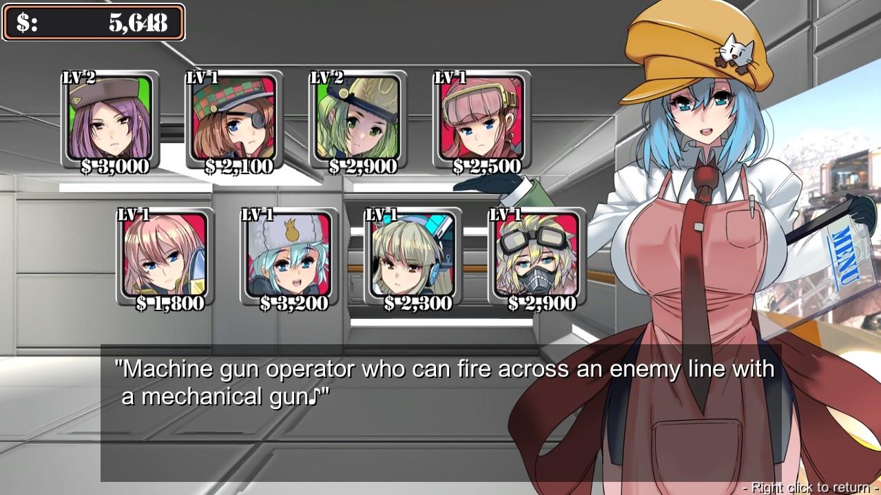 GIRLS DEFENCE screenshot