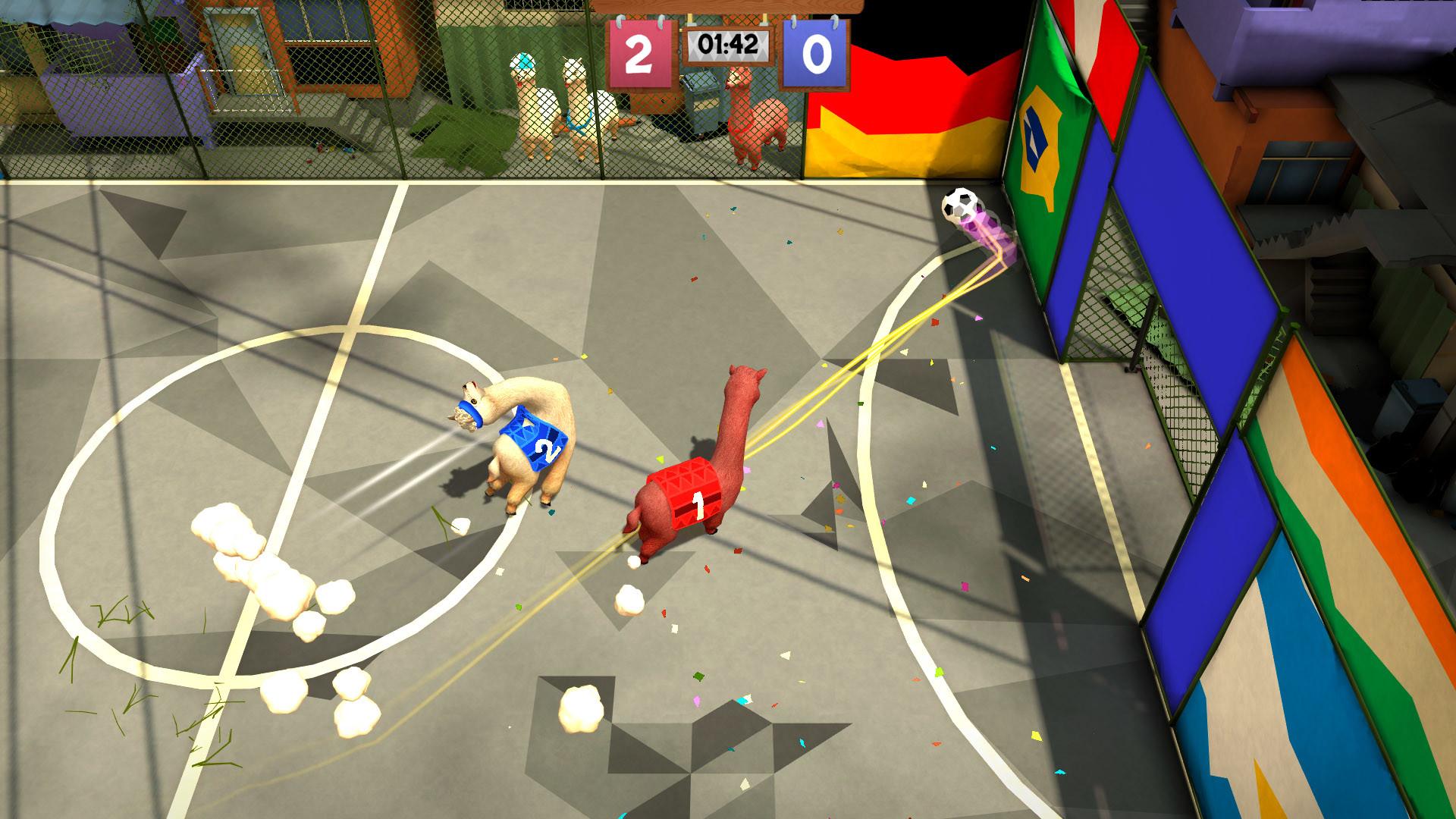 Alpaca Ball: Allstars  screenshot