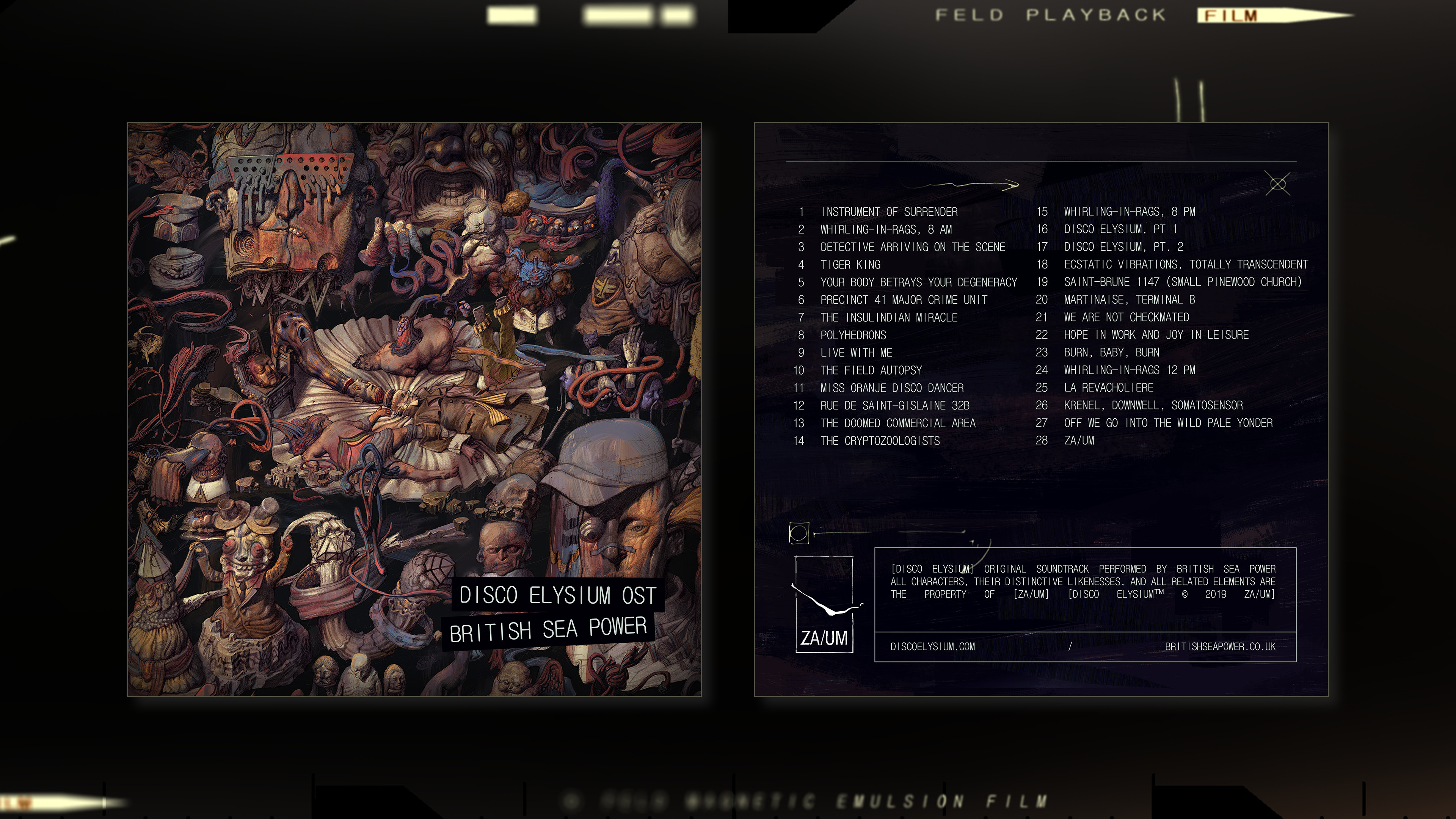 Disco Elysium Soundtrack screenshot