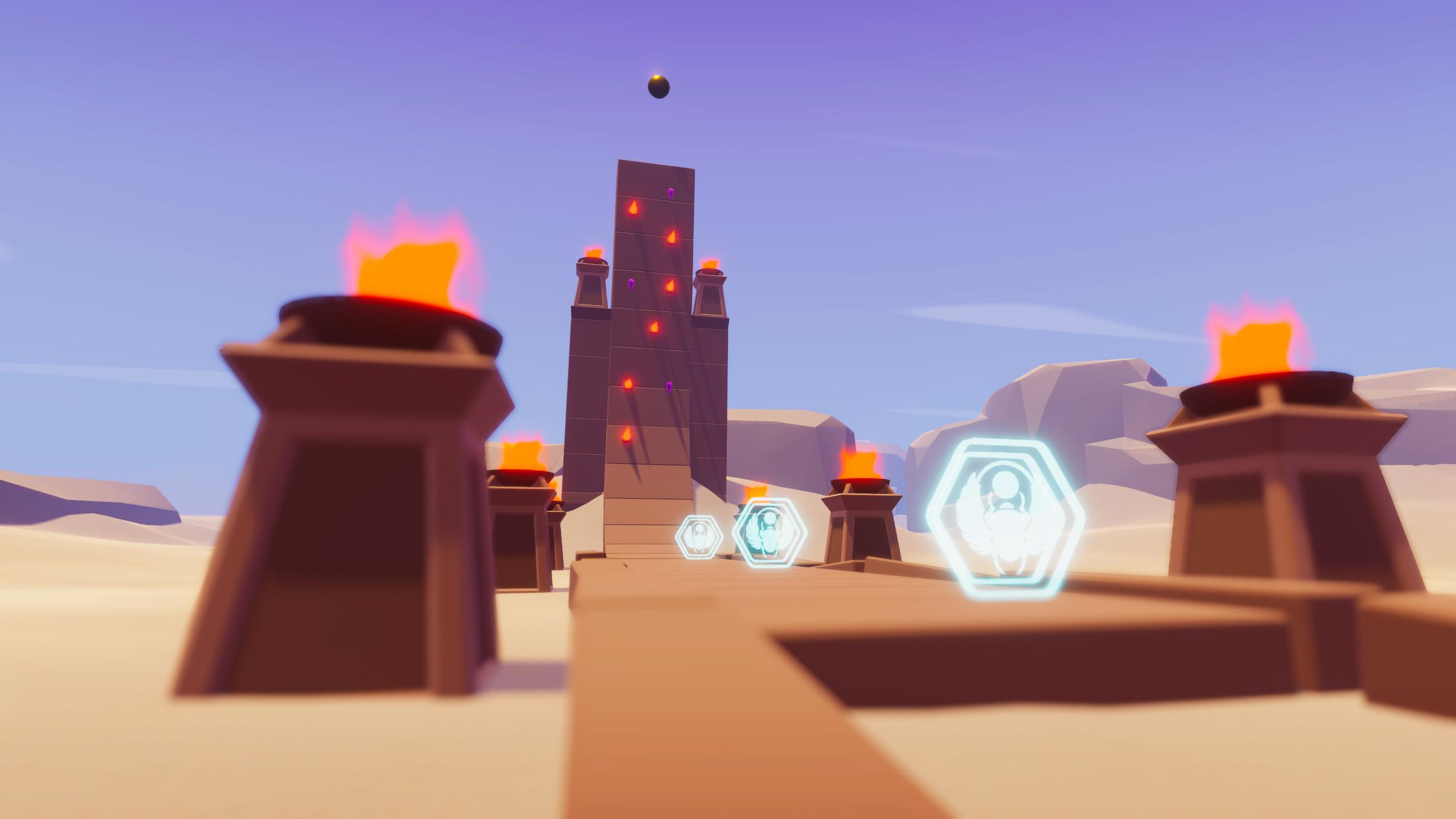 Glyph - Dustland Challenges screenshot