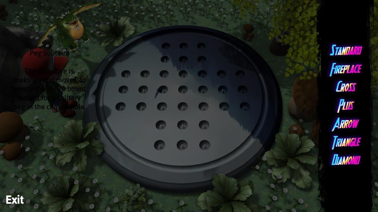 Peg Solitaire Adventure screenshot