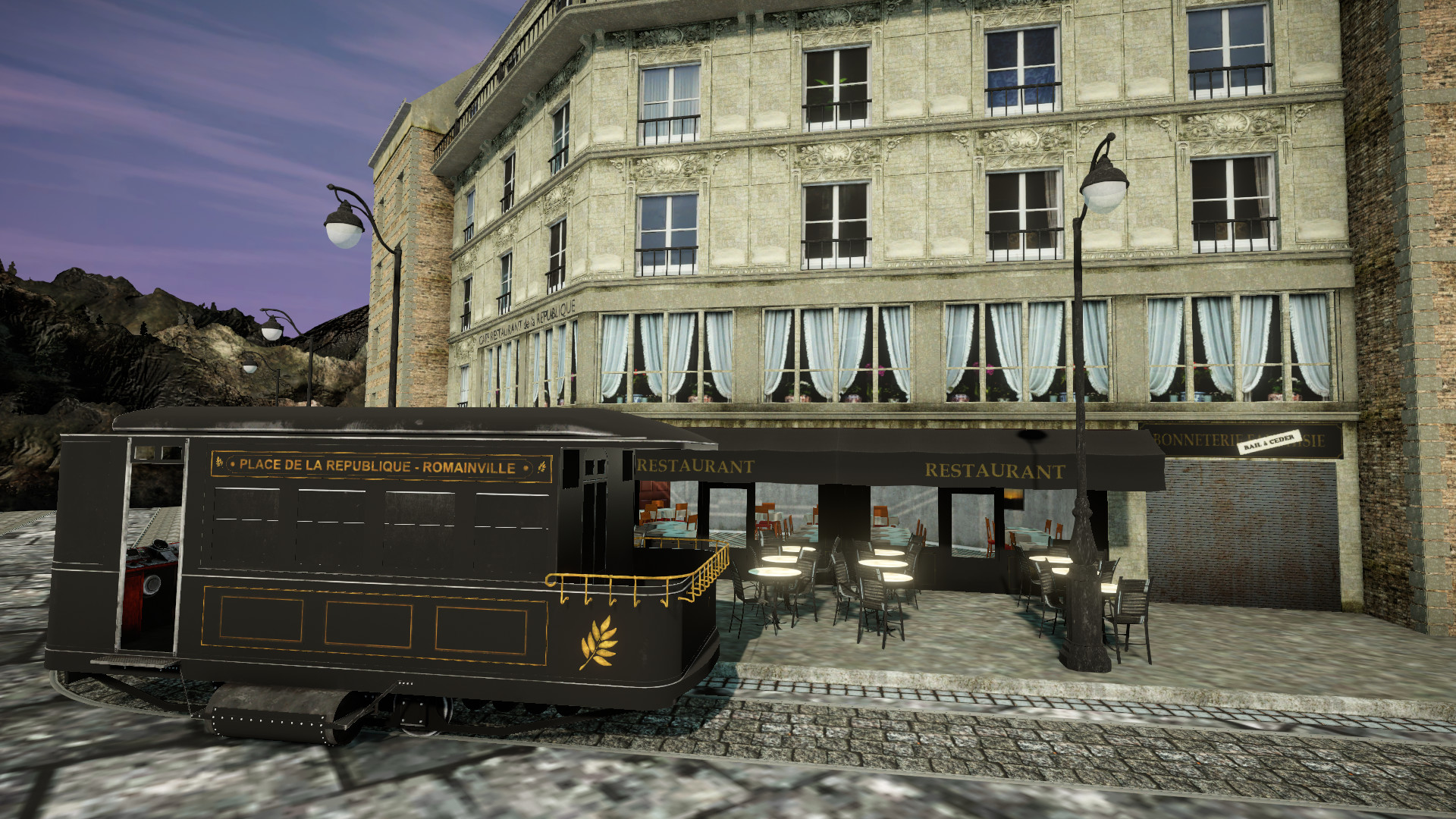 French for 3D Visual Novel Maker screenshot