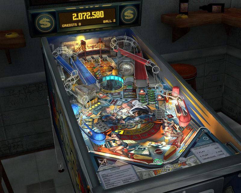 SlamIt Pinball Big Score screenshot