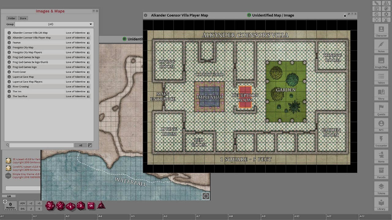 Fantasy Grounds - For the Love of Valentine screenshot