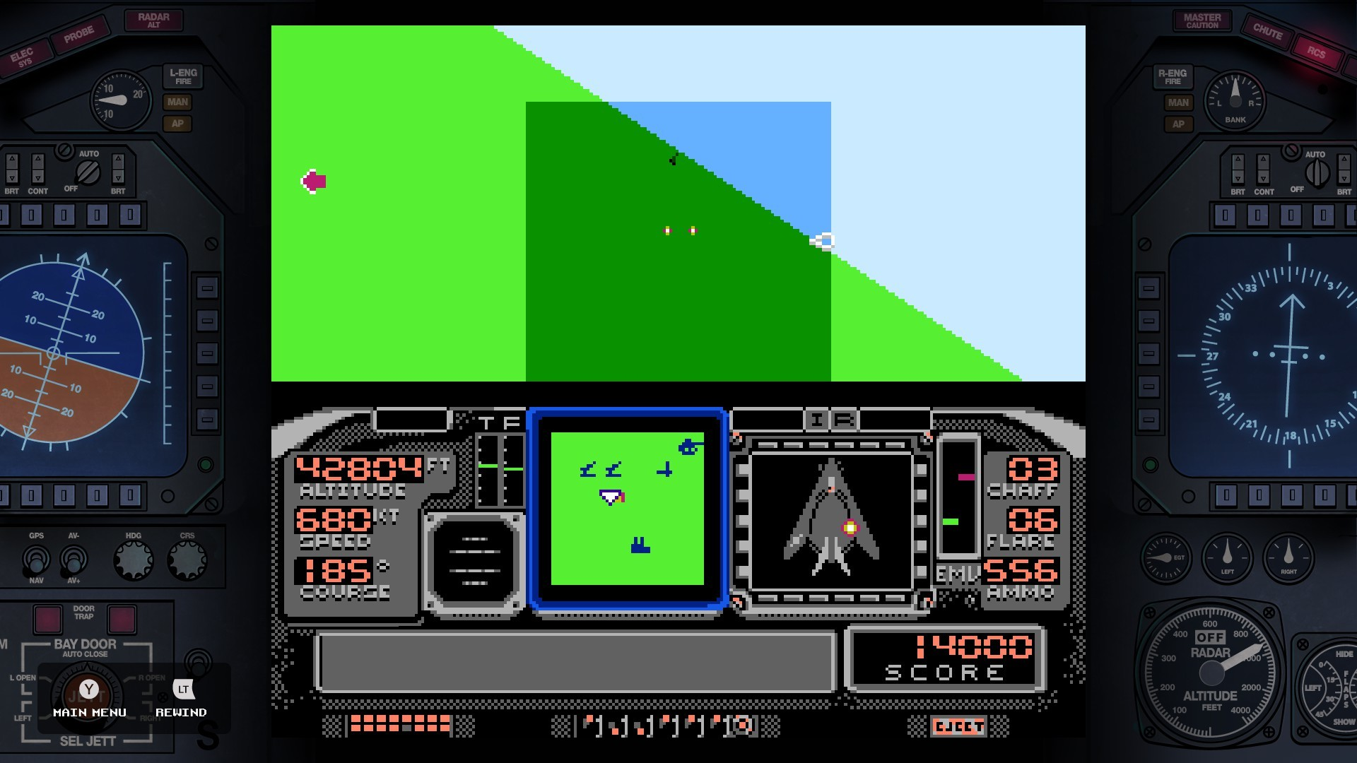 F-117A Stealth Fighter (NES edition) screenshot
