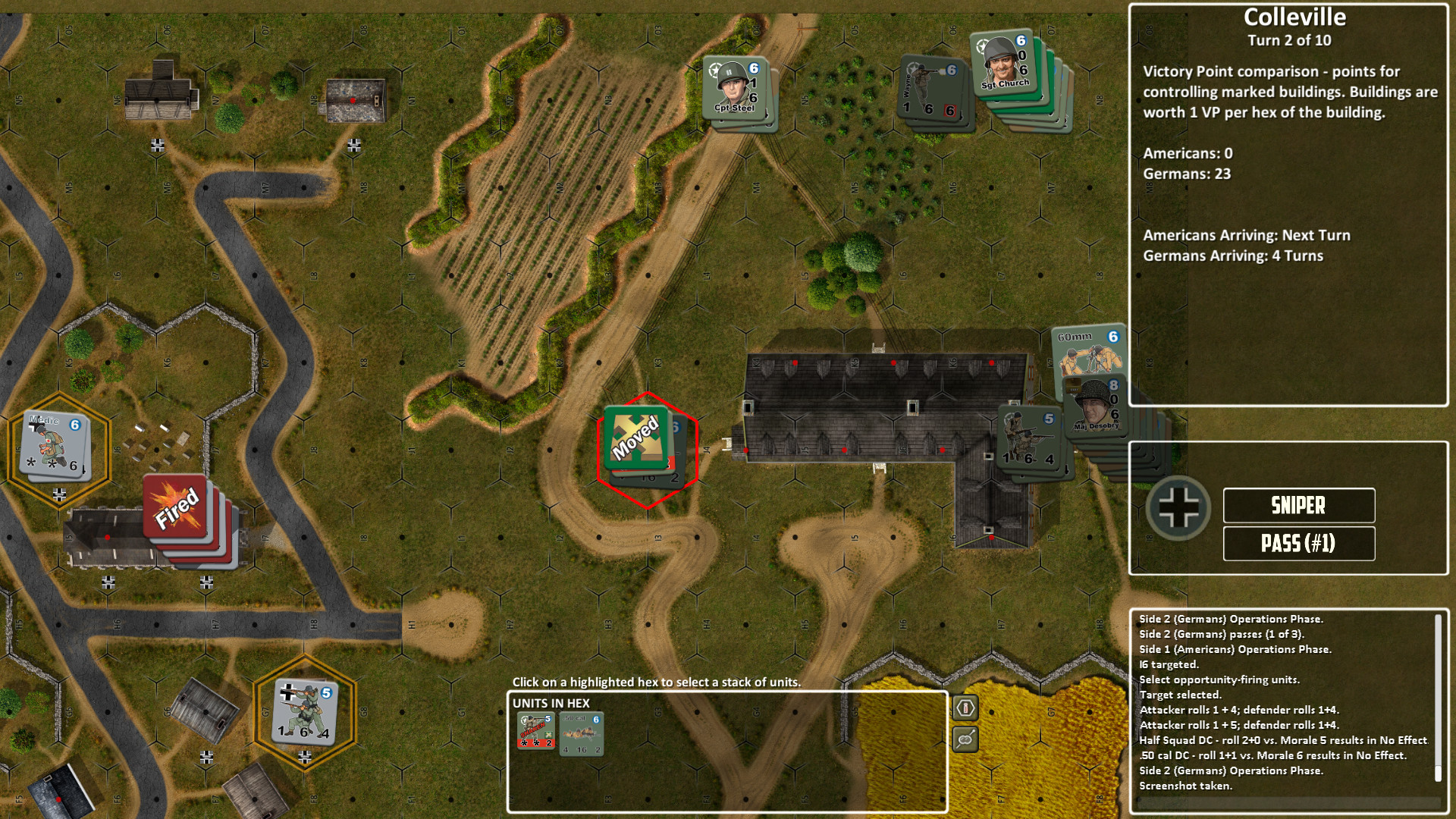 Lock 'n Load Tactical Digital: Heroes of Normandy - Pack 1 screenshot